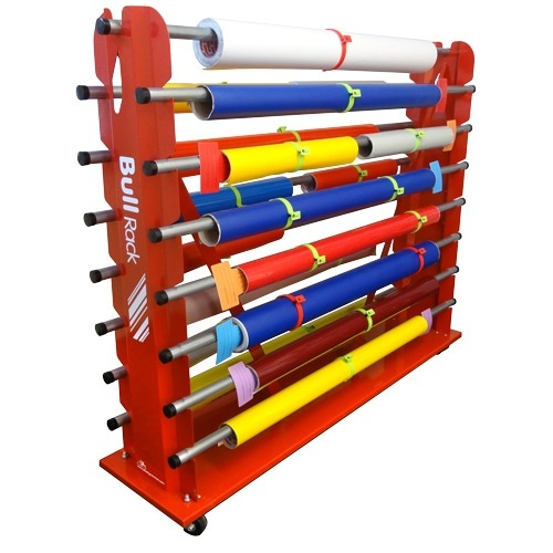 Fusion Bull Rack   Storage   Roll Storage Wide Format Printers And Large  Format Printers