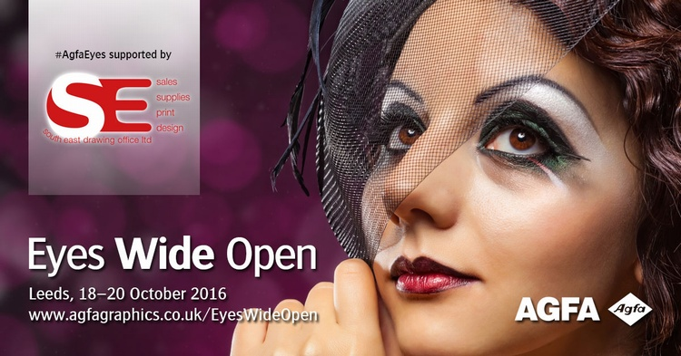 Why not join us at Agfa's Eyes Wide Open event?